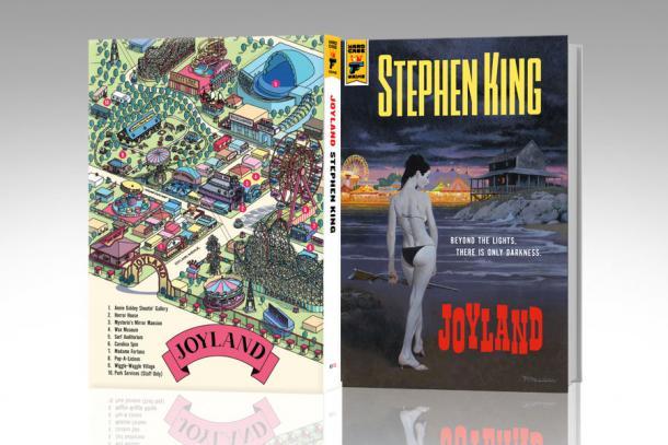 Em edição especial nos EUA, livro conta com mapa de Joyland. (Foto: Divulgação)
