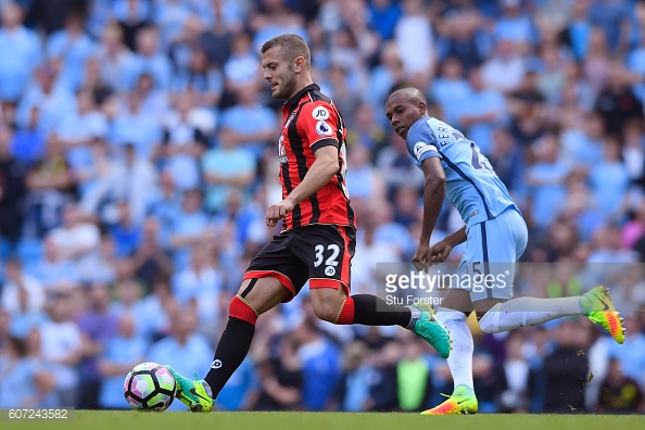 Jack Wilshere has not completed a full game in the Premier League for over two years.   Photo: Stu Forster/Getty Images