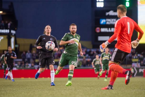 Jack McInerney no longer with the Portland Timbers. | Photo: Getty Images