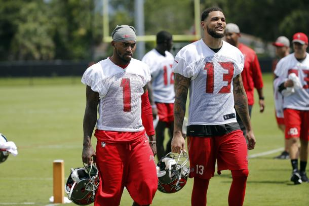 Desean Jackson (left) and Mike Evans (right) will be a potent partnership | Picture Credit: Kim Klement - USA Today Sports