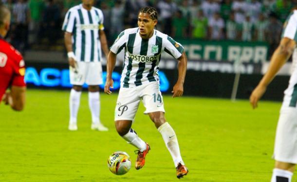 Palomino en acción (Foto: Fútbol en Red).