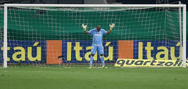 Jailson virou titular incontestável(Foto: Cesar Greco/Ag Palmeiras/Divulgação)