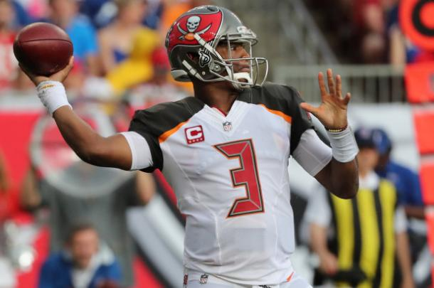 This is not the first time the Bucs have had to deal with Winston's off-field issues | Source: Charles Wenzelberg-The New York Post