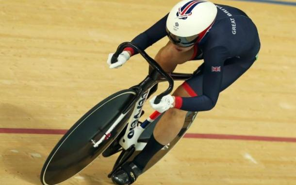 James broke the Olympic record in qualifying yesterday / The Telegraph