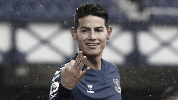 Un reto duro para James./ Foto: Premier League