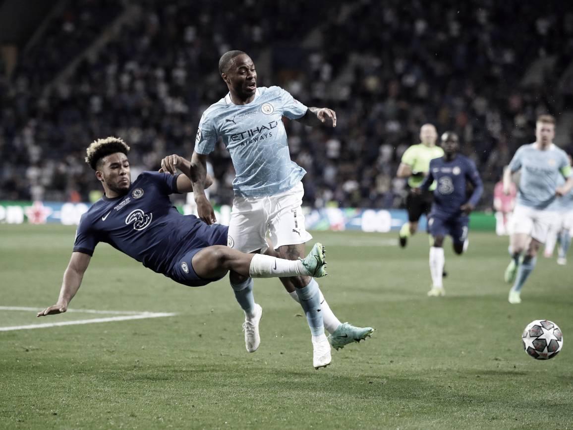 James y su duelo con Sterling | Foto: UEFA