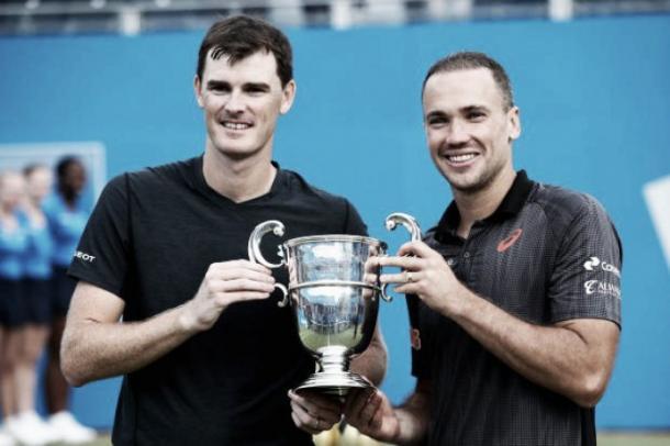 Os campeões do ATP 500 de Londres/ Foto: Getty Images