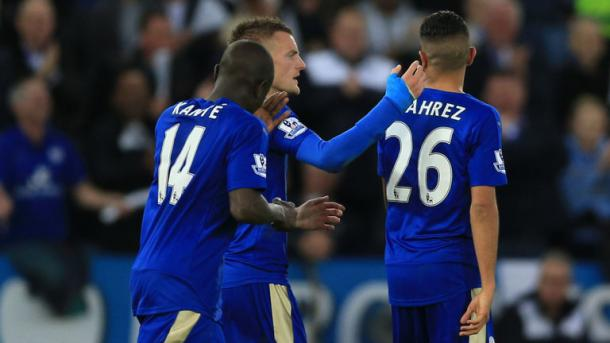 Mahrez, Kanté y Vardy, piezas fundamentales de este Leicester. Foto: Sky Sports