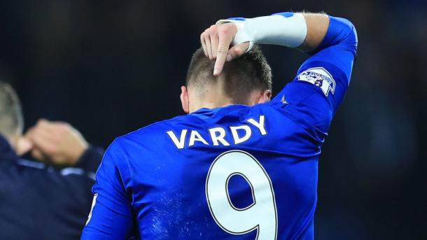 Record breaker; Jamie Vardy. | Source: Premier League