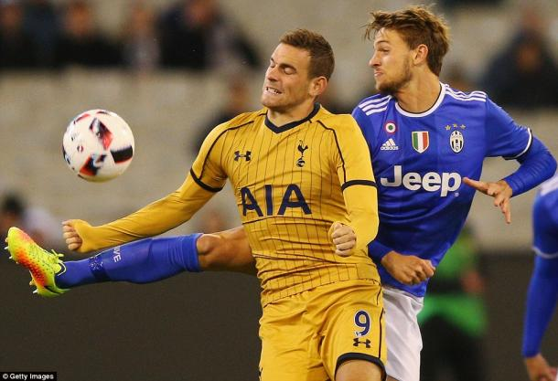Janssen struggled against Juve (photo; Getty)