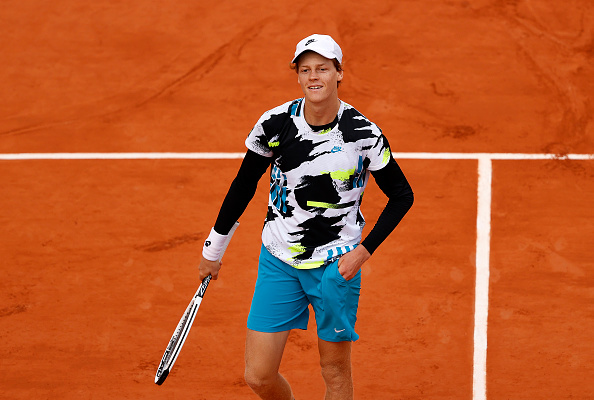 Sinner is the first French Open debutant to make the quarter finals since Nadal (Clive Brunskill/Getty Images)