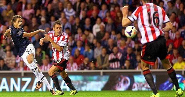 Januzaj scored a brace against Sunderland in '13-14 (photo: Getty)