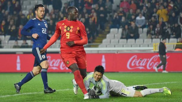 Bélgica dio vuelta el 0-2 y dejó afuera a Japón.