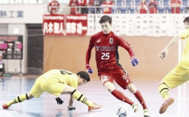 Khoei Shibata en la liga japonesa / Foto: Noia Futsal