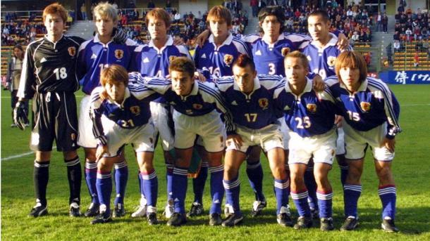 Japón en la Copa América ´99.