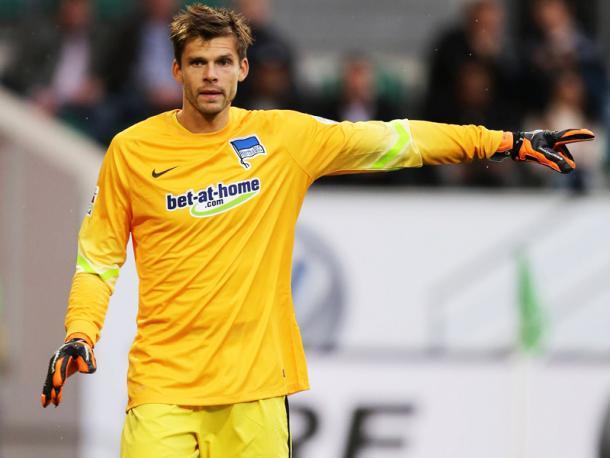 Jarstein has kept an impressive five clean sheets in ten games following the winter break (Source: Kicker.de)