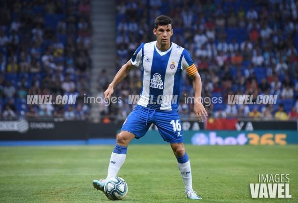 Javi López cometió un penalti en la primera parte | Foto: VAVEL