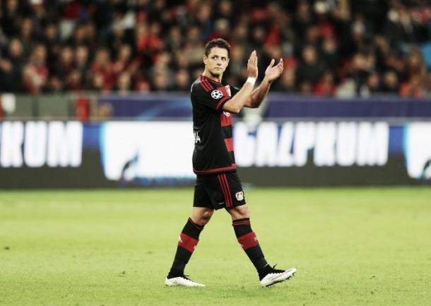 Javier Hernández sigue sin fallar de cara al gol. | Foto: Getty Images