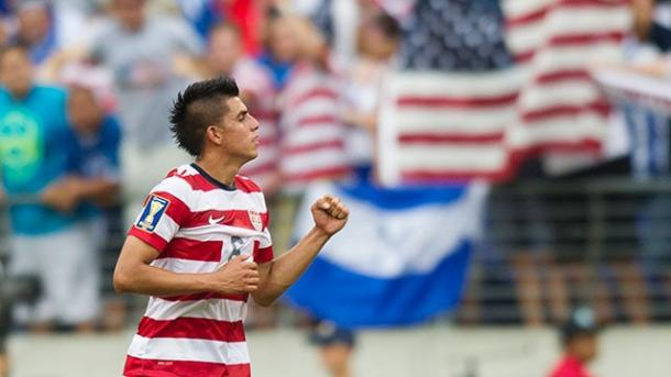 Joe Corona found himself on the scoresheet against Nicaragua. | Source: Daniel Seco