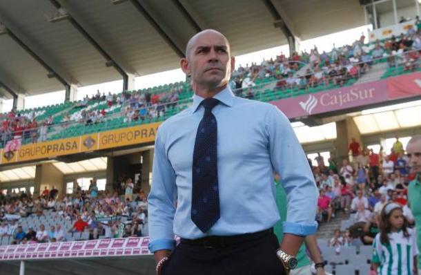 Paco Jémez en el Nuevo Arcángel | Foto: ABC