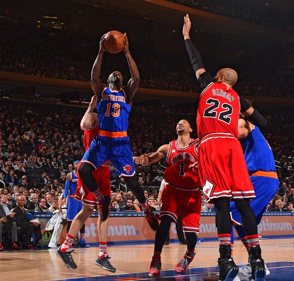 Jerian Grant entrando a canasta. Foto: New York Knicks