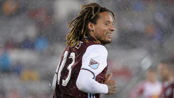 Since his arrival to Colorado Jermaine Jones has already made his mark on the squad with two goals and assist in two games. Photo provided by Colorado Rapids.