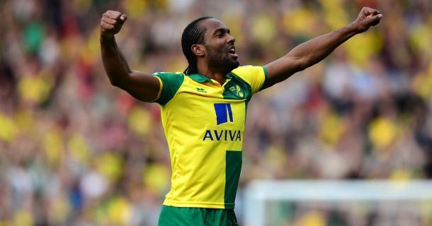 Jerome conoce bien la Championship tras haber disputado tres temporadas en el Norwich   Foto: Norwich City