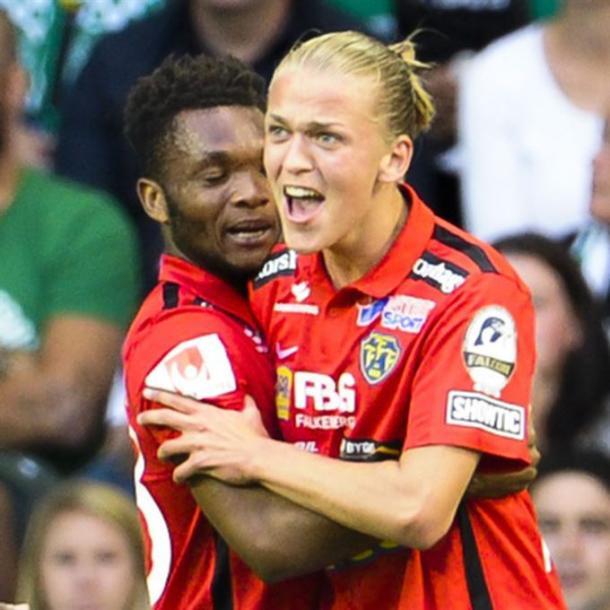 Karlsson celebrates | Photo: LINNEA RHEBORG / PHOTO AGENCY