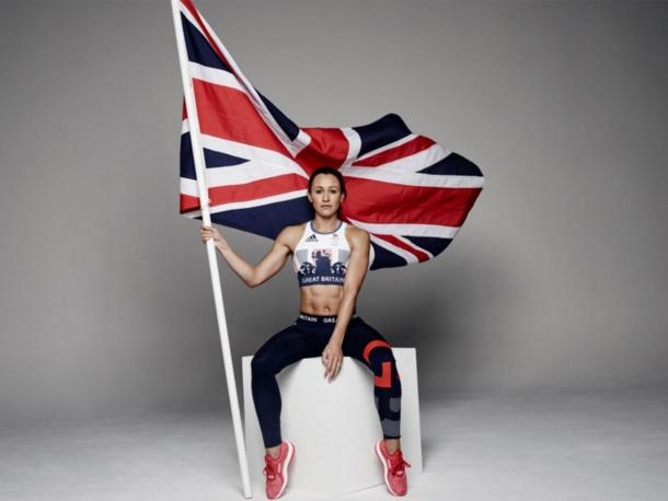 Jessica Ennis Hill was part of Team GB's kit launch for Rio (photo:Independent)