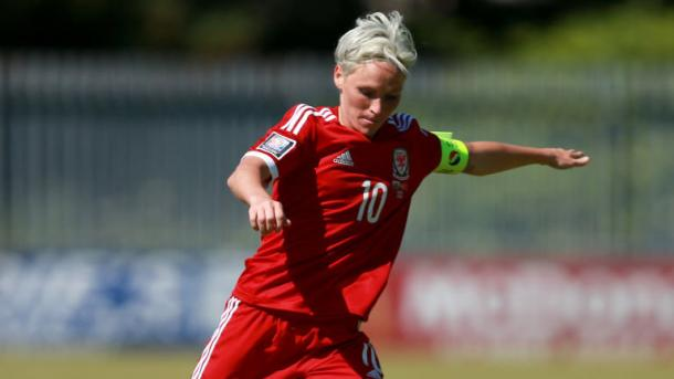 Fishlock could earn her 100th cap for Wales in April | Source: skysports.com