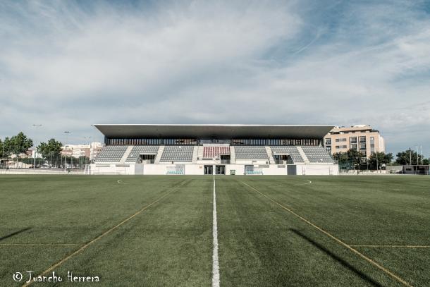 Estadio Municipal Ciudad Sur   Foto de Juancho Herrera