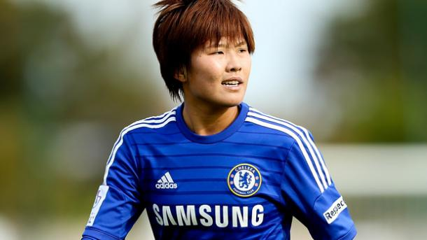 Ji So-yun will look to help her team pick up an improbably win | Source: thefa.com