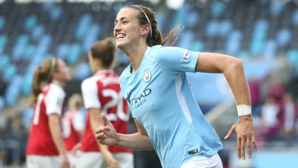 Jill Scott is one of many talented players in City's roster | Source: mancity.com