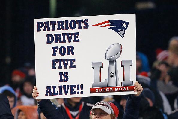 Patriots quer o quinto anel do Super Bowl; todos foram conquistados entre 2001 e 2015   Foto: Jim Rogash/Getty