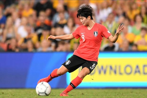 South Korean midfielder Ji So-yun projects to be one of the more influential players in the group. | Photo: @FIFAWWC