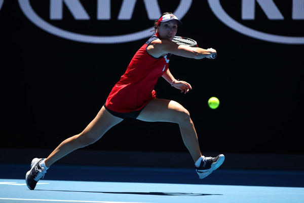Jankovic will provide a tough test for Kuznetsova (Photo by Clive Brunskill / Getty Images)