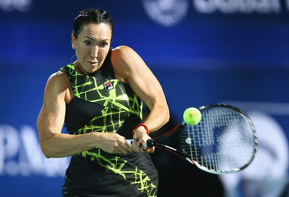 Jelena Jankovic Mid Rally. Photo: Francois Nel/Getty Images
