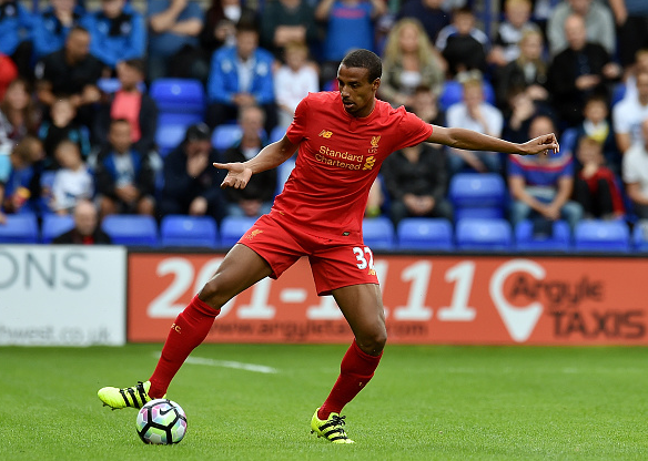 Matip in action during Liverpool's 1-0 pre-season friendly victory over Tranmere earlier this evening. | Photo: Getty