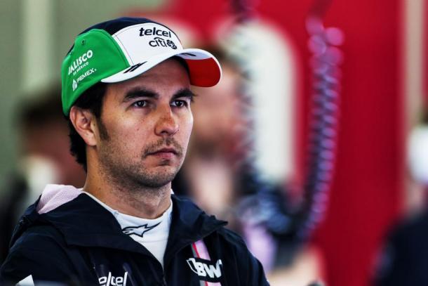 Sergio Pérez en el GP de México   Foto. Racing Point Force India