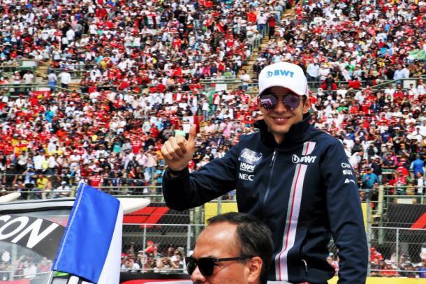 Esteban Ocon en el GP de México   Foto. Racing Point Force India