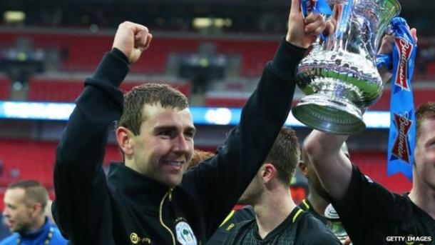 McArthur won the FA Cup with Wigan in 2013, and hopes to return for Palace's semi-final | Photo: Getty images