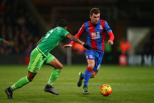 James McArthur has been missing from the Palace midfield since January | Photo: Getty images
