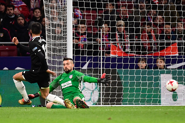 Joaquín Correa marcou o gol da virada nos minutos finais | Foto: Pierre-Philippe Marcou/Getty Images