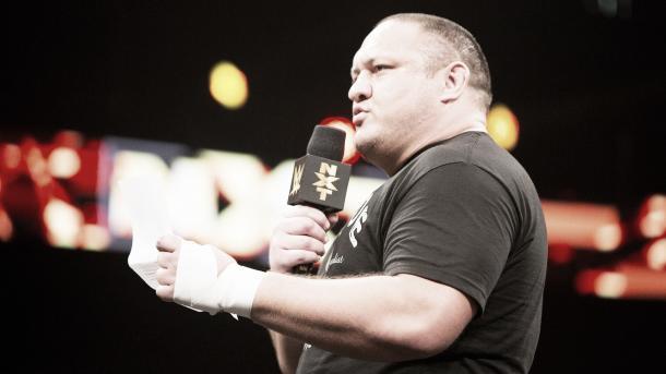 Joe was outstanding in NXT. Photo: WWE.com
