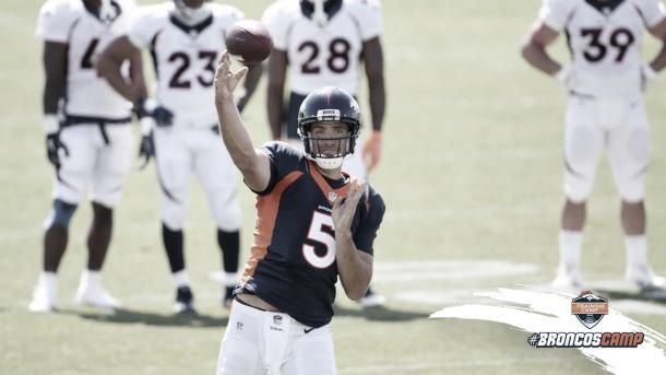 Joe Flacco será el lider de los renovados Broncos dirigidos por Vic Fangio (foto Broncos.com)