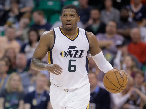 Veteran Joe Johnson will now play for the Sacramento Kings. Photo: Rick Bowmer/AP