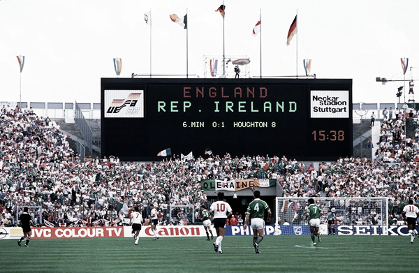 The win over England in at Euro '88 remains one of Ireland's most famous victories. (Photo: Joe.ie)
