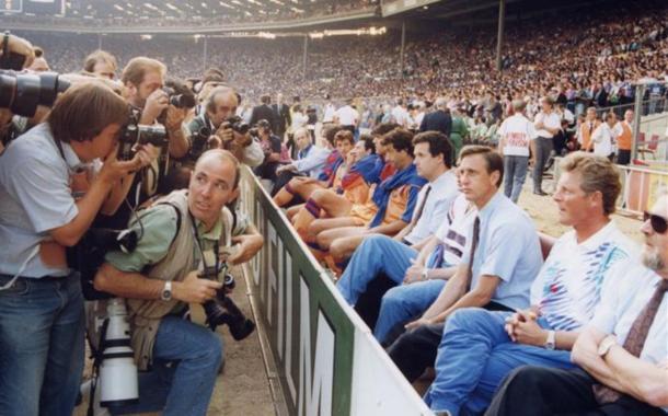 Johan en Wembley, una noche para el recuerdo | Foto: Sport