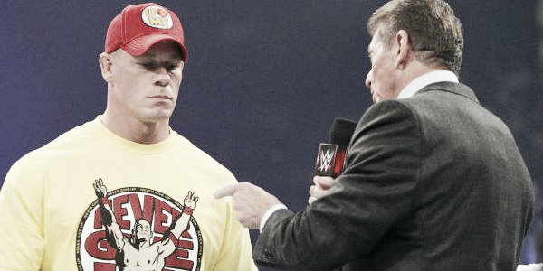 Mr McMahon believes John Cena is the Babe Ruth of wrestling (image: WhatCulture.com)