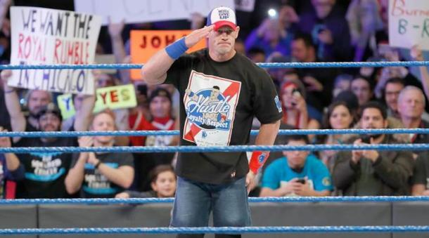 Even John Cena is no longer a reason to tune into SmackDown Live (image: the indian express)